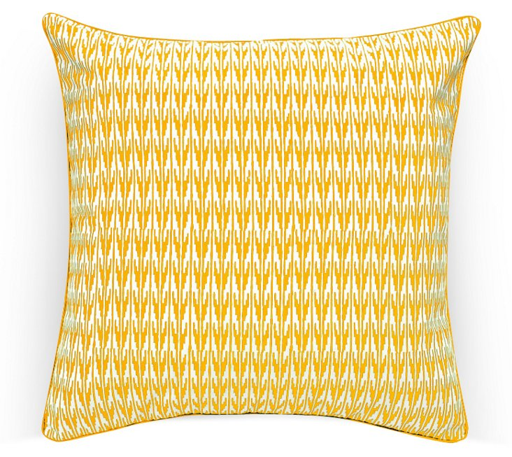 BP Gin Pillow, Yellow