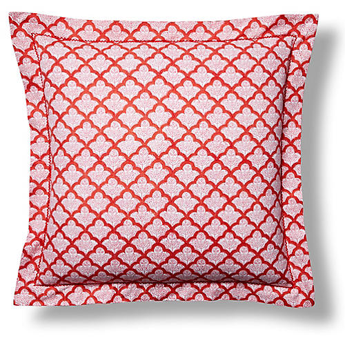 S/2 Jemina Euro Shams, Red