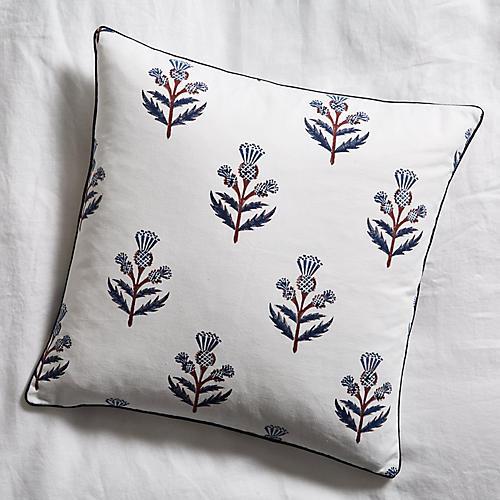 Alpin 18x18 Pillow, Deep Navy
