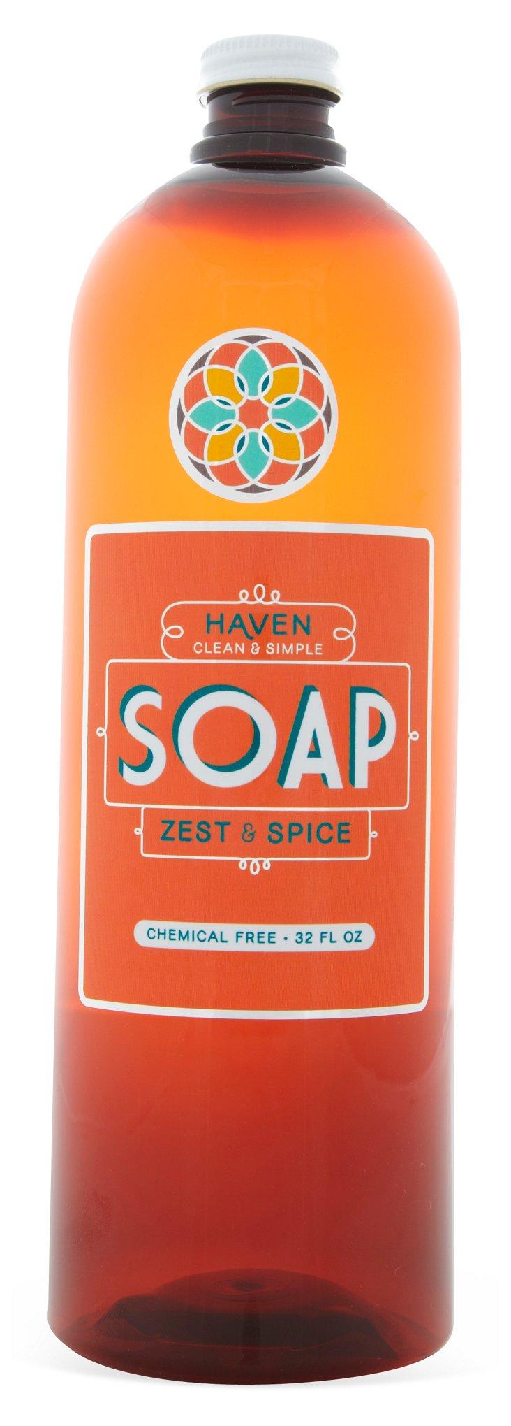 Castile Hand & Dish Soap, 32 Oz