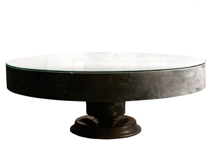 Wagon-Wheel Coffee Table