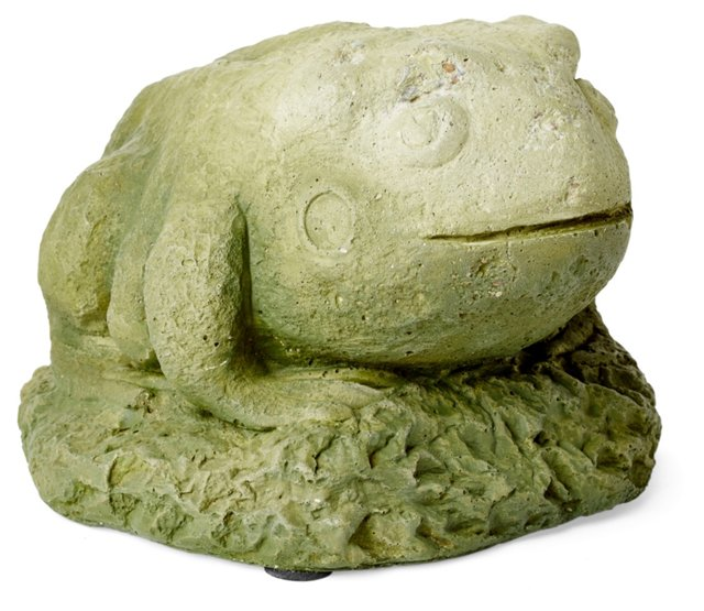 """8"""" Cast Stone Toad"""