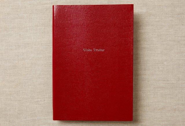 """Globe Trotter"" Journal, Red"