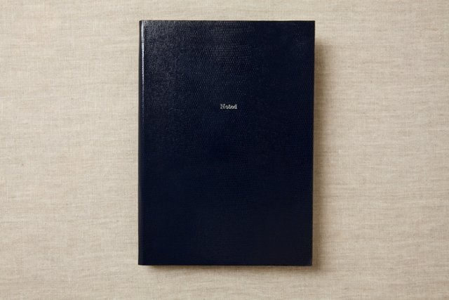 Noted Journal, Midnight Blue