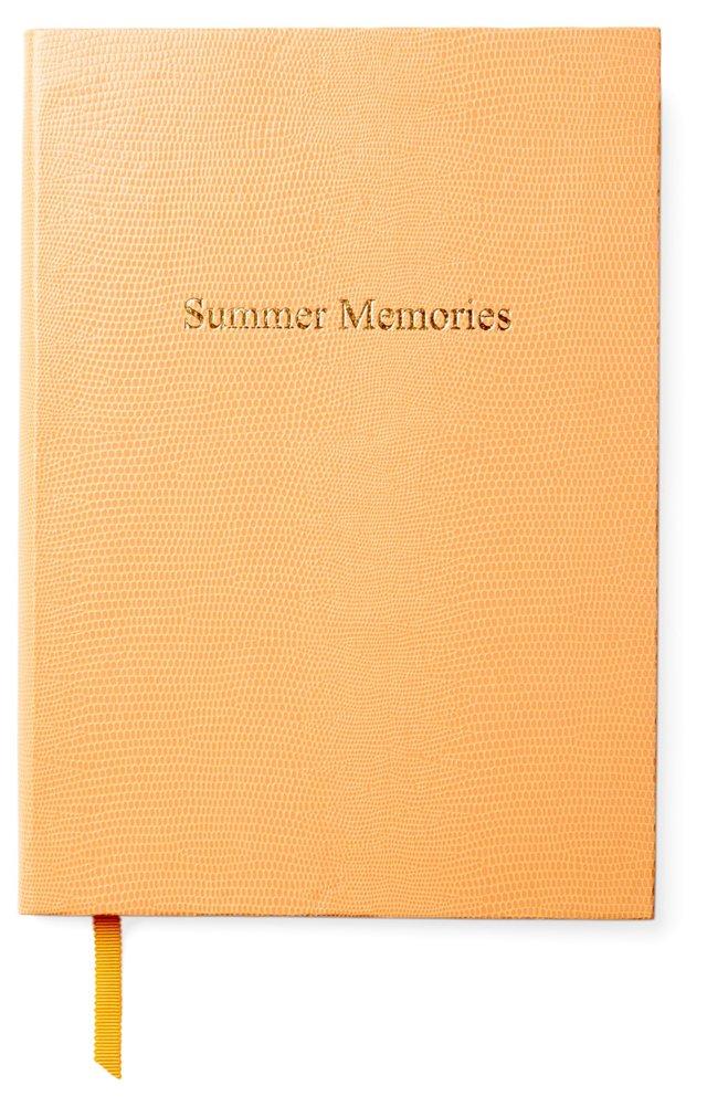 """""""Summer Memories"""" Journal, Custard"""