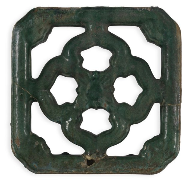 Antique Chinese Temple Tile