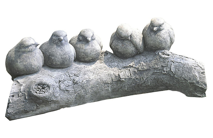 Birds on a Log, Greystone