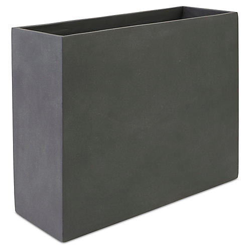 "36"" Modular Tall Planter, Lead"