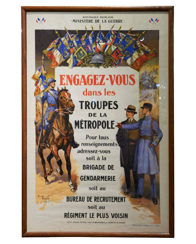 French Military Enlistment Poster