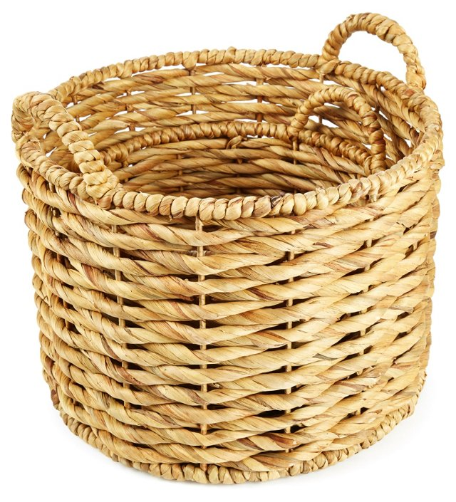 Asst. of 2 Water Hyacinth Baskets, Round