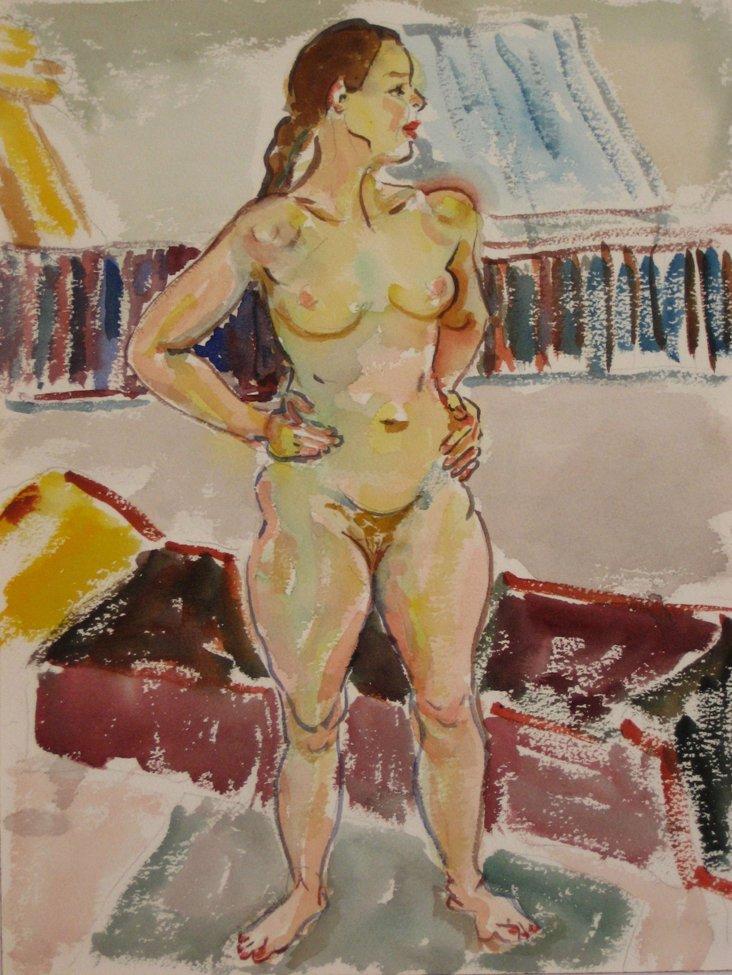 1940s-1960s Van Wingerden Nude