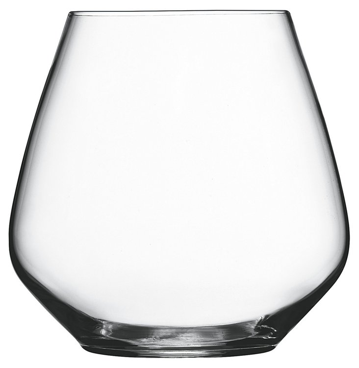 S/4 Pinot Noir Stemless Glasses