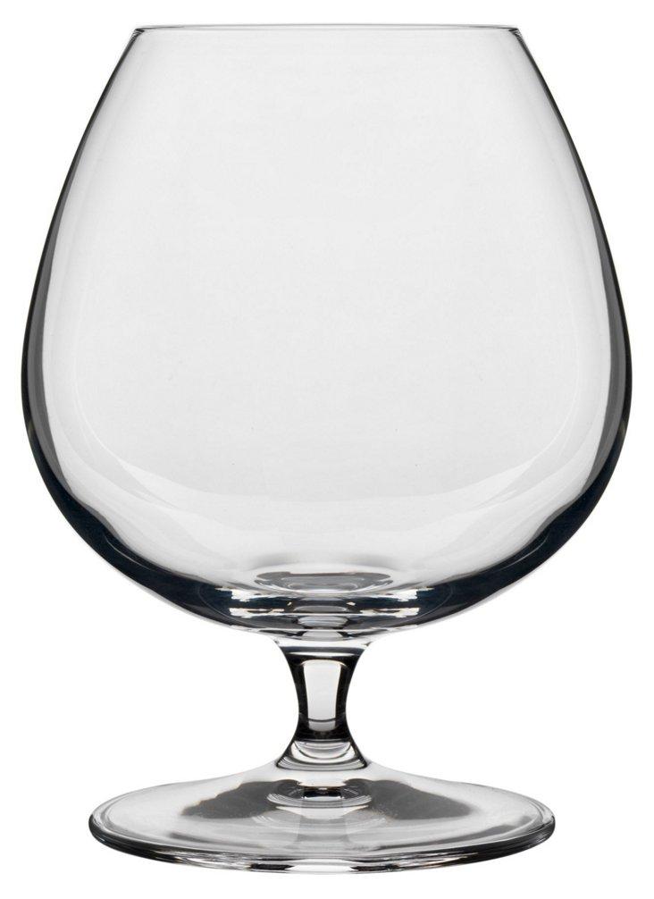 S/4 Crescendo Cognac Glasses