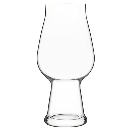 S/2 Birrateque IPA Glasses, Clear