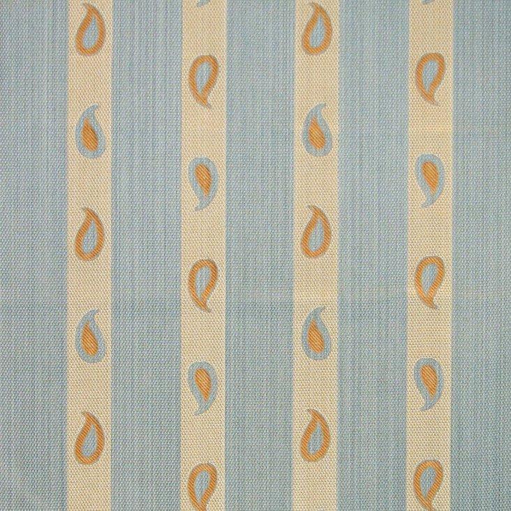 Arabian Stripe Fabric, Blue