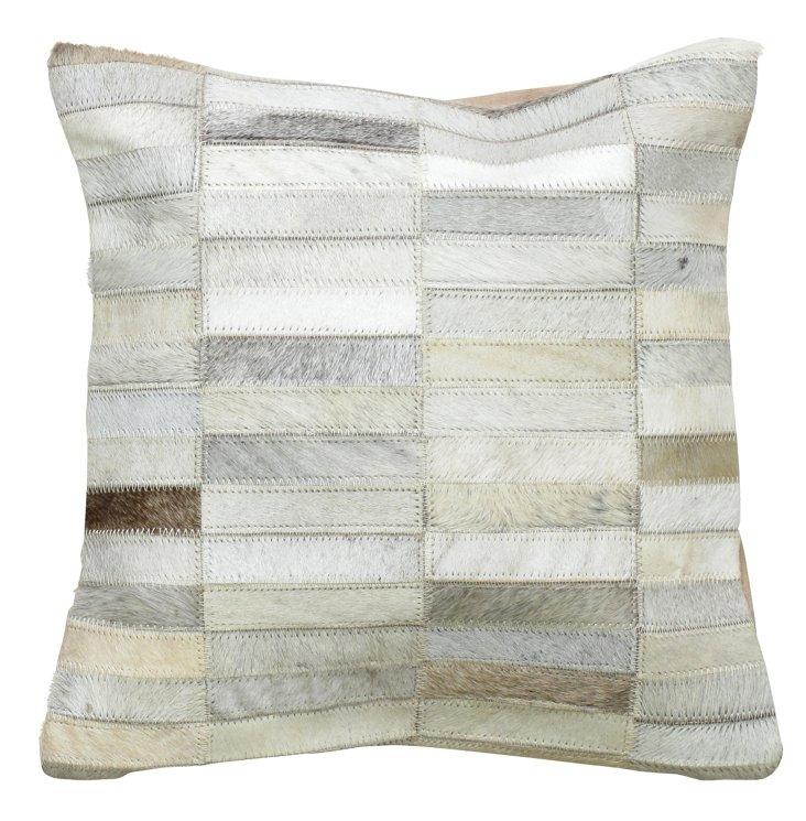 Pindos 20x20 Pillow, Gray