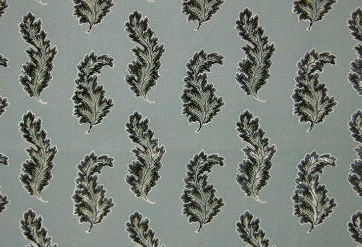 Acanthus Fabric, Blue