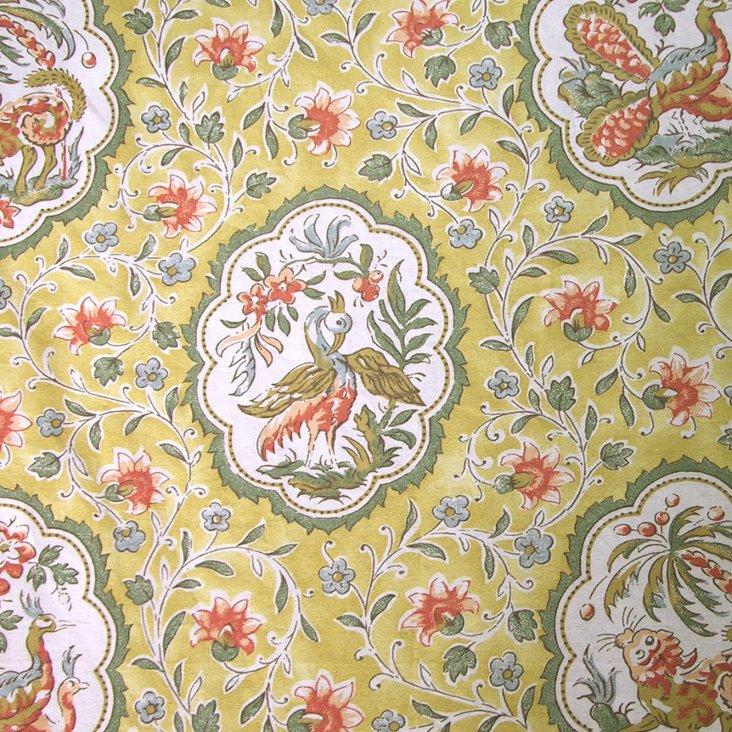 St. Remy Cotton Fabric, Mustard