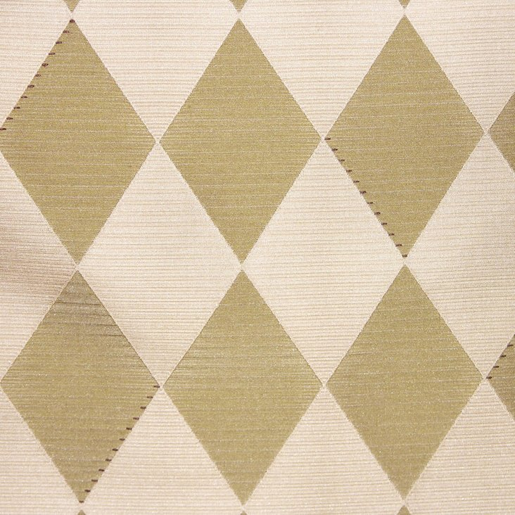 Carats Silk/Wool Fabric, Tan
