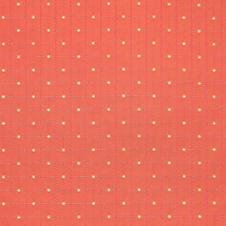 Casino Cotton Fabric, Coral