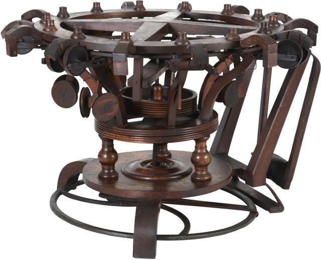 Antique French Knitting Machine, 1840