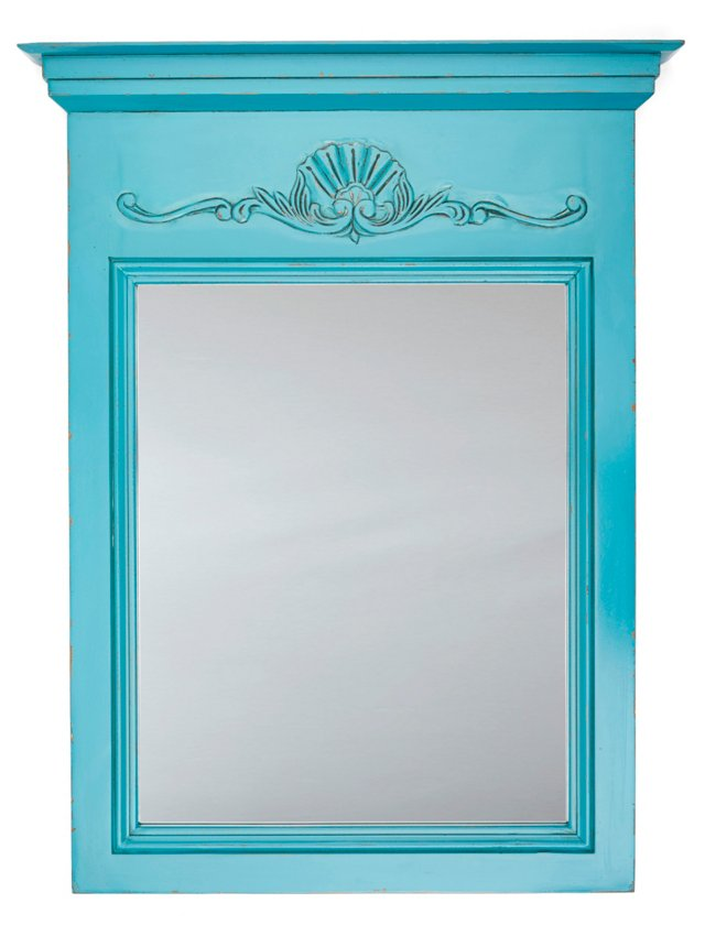 Julienne Mirror, Blue