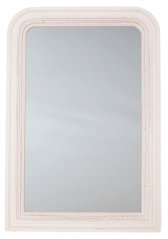 Lille Wall Mirror, White