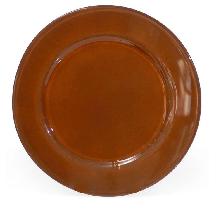 Chocolate Glass Plate