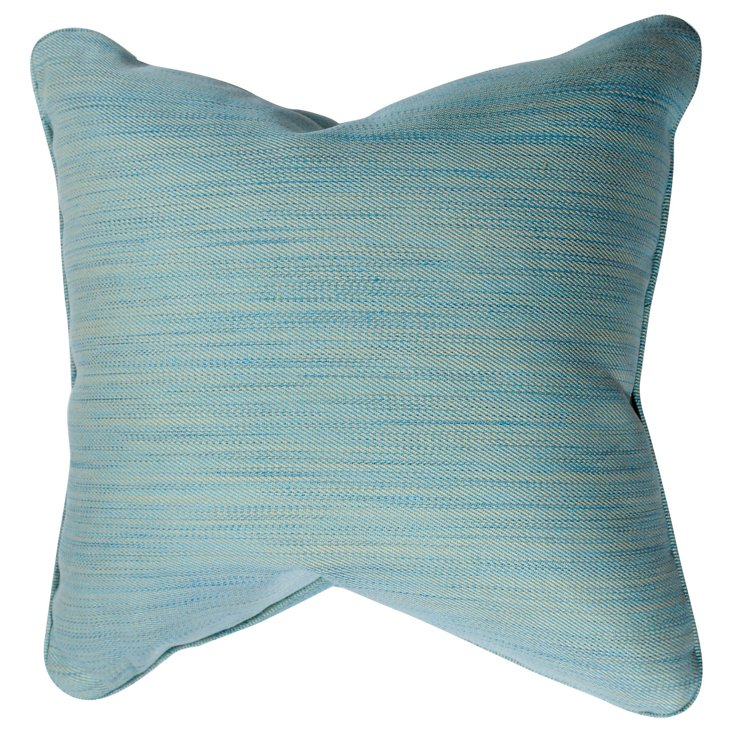 Blue Strie Pillow