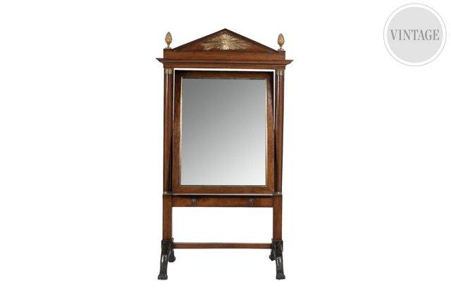 Italian Cheval Mirror, Tuscany, C. 1815
