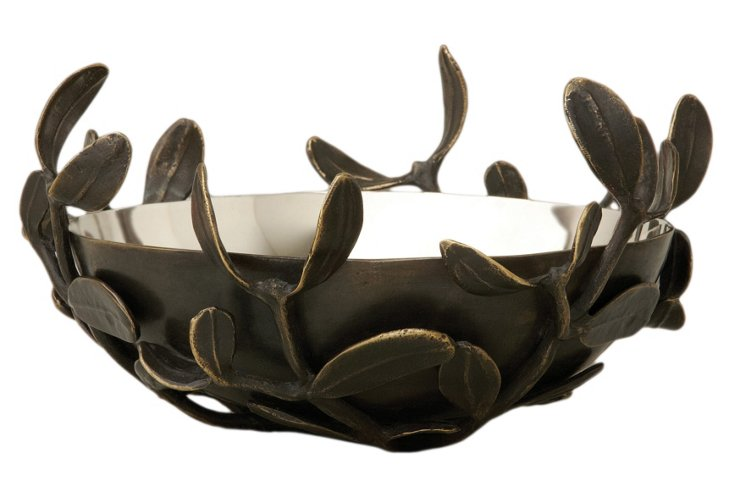 "6"" Silver-Plated Nest Bowl"