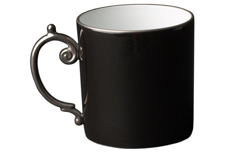 Porcelain Mug with Platinum Detail