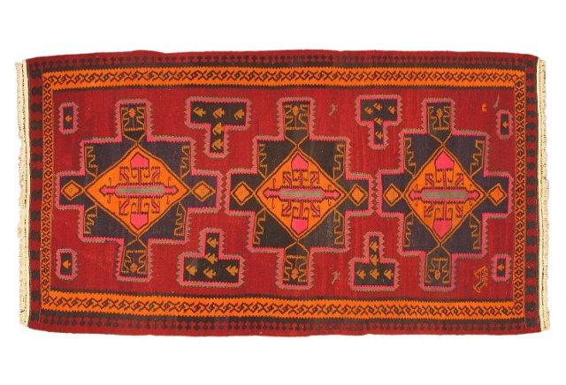 "5'6""x10'8"" Anatolian Kilim Rug, Multi"