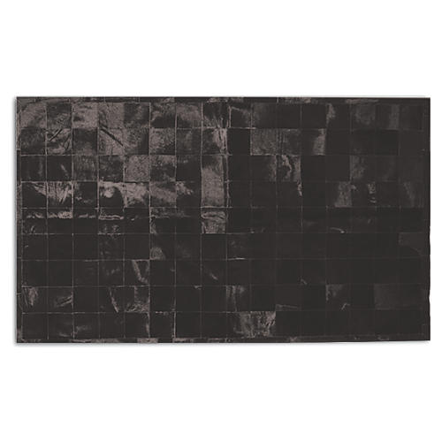 Oslo Hide Rug, Black