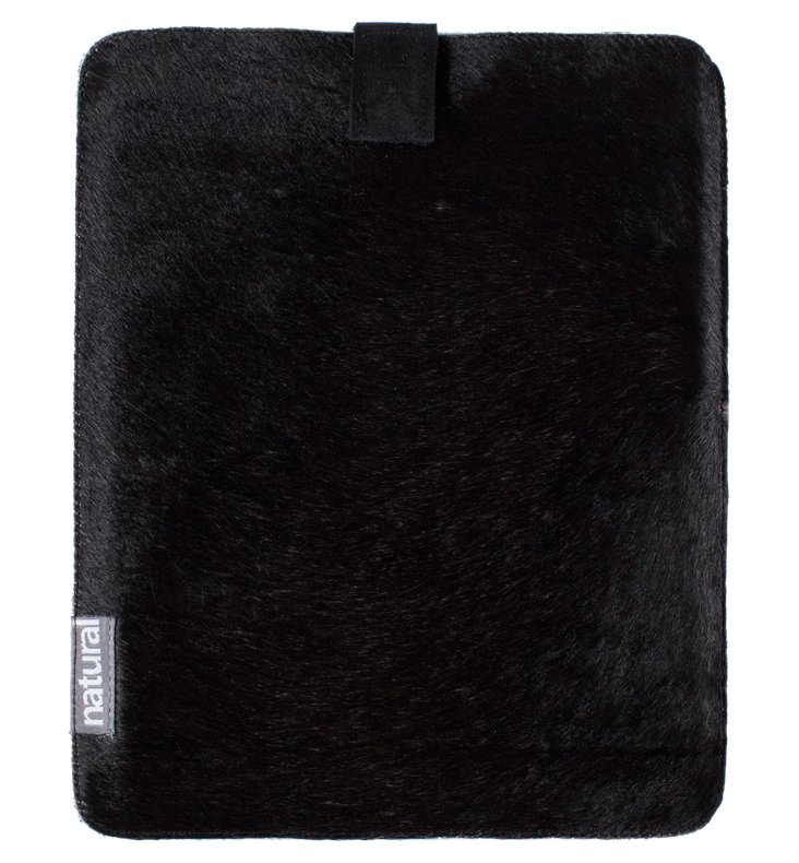 iPad Cowhide Case, Black