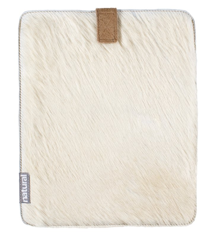 iPad Cowhide Case, Natural