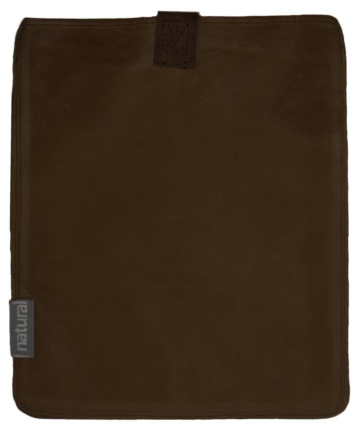 iPad Leather Case, Chocolate