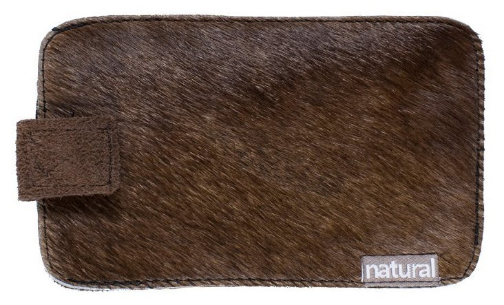 iPhone Cowhide Case, Chocolate