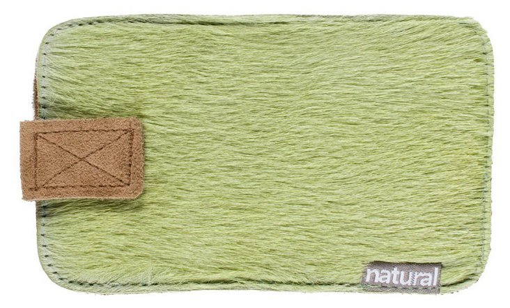 Cowhide iPhone Case, Lime