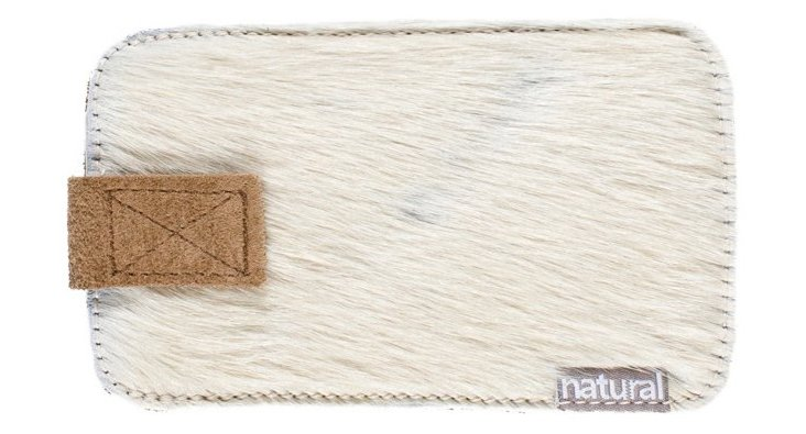 iPhone Cowhide Case, Off-White