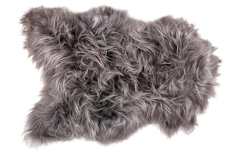 2'x3' Icelandic Long-Haired Sheepskin