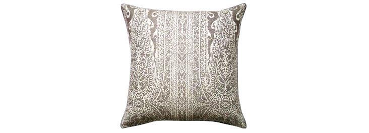 Leisi 22x22 Cotton Pillow, Coconut