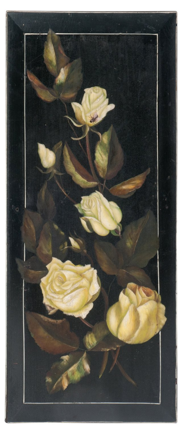 Oil Painting, Victorian Roses I