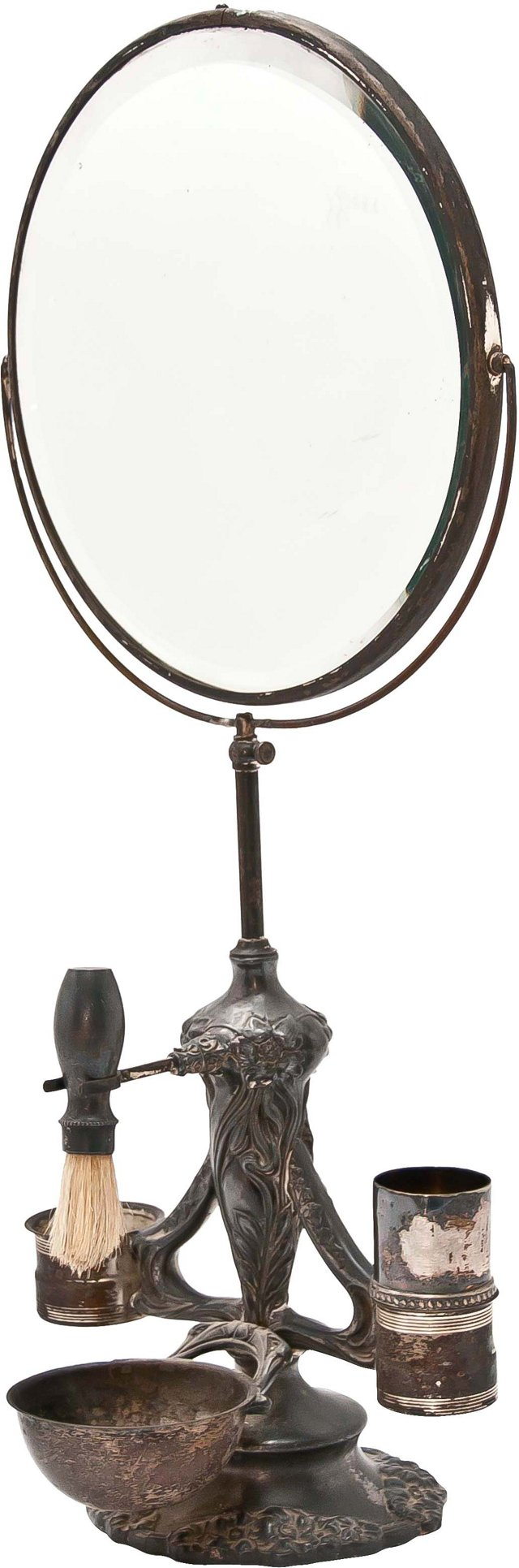 Art Nouveau Shaving Mirror