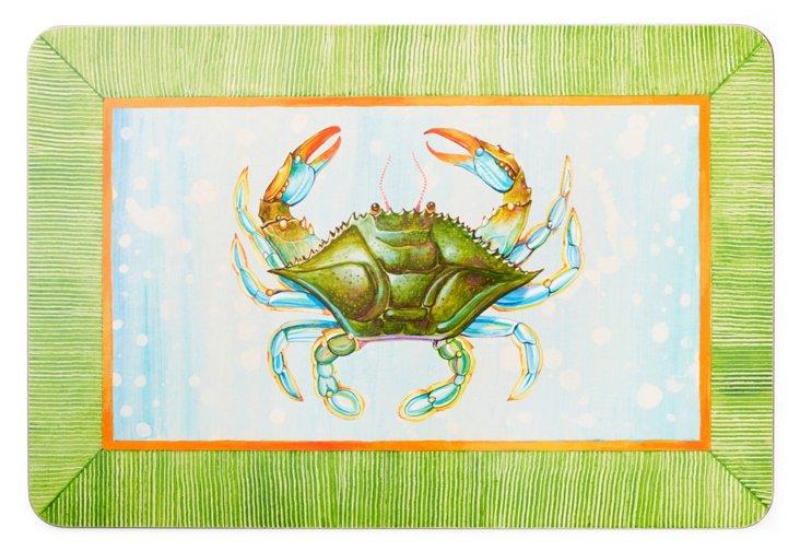 S/4 Crab Place Mats