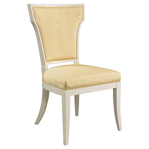 Langley Side Chair, Gold