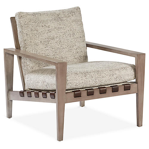 Mathew Accent Chair, Slate