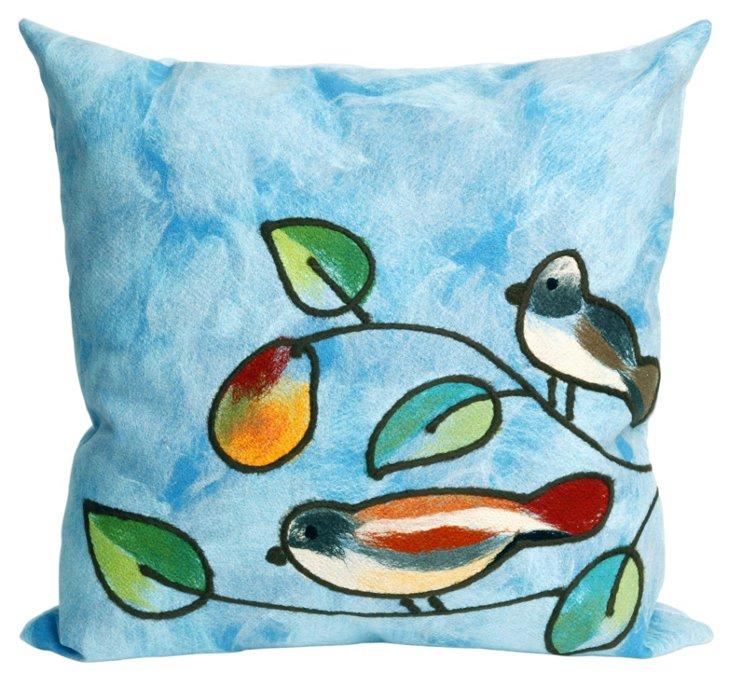Set of 2 Spiral Pillows, Cool