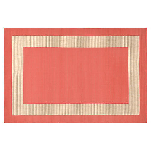Newport Outdoor Rug, Coral