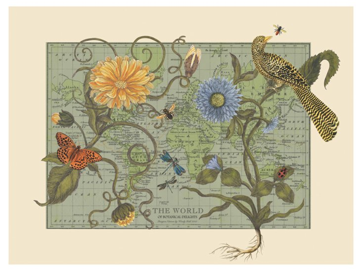 Botanical Delights Map